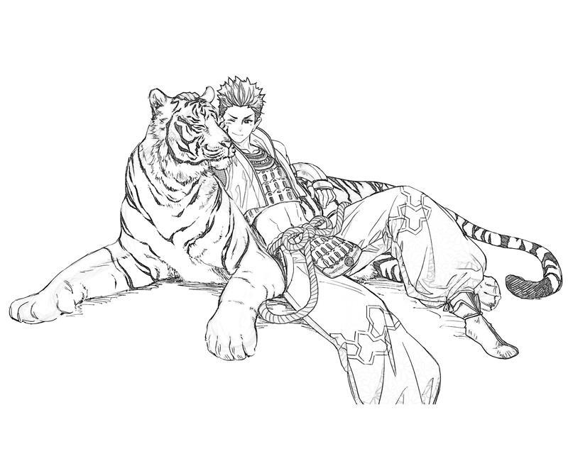 ieyasu-tokugawa-lion-coloring-pages