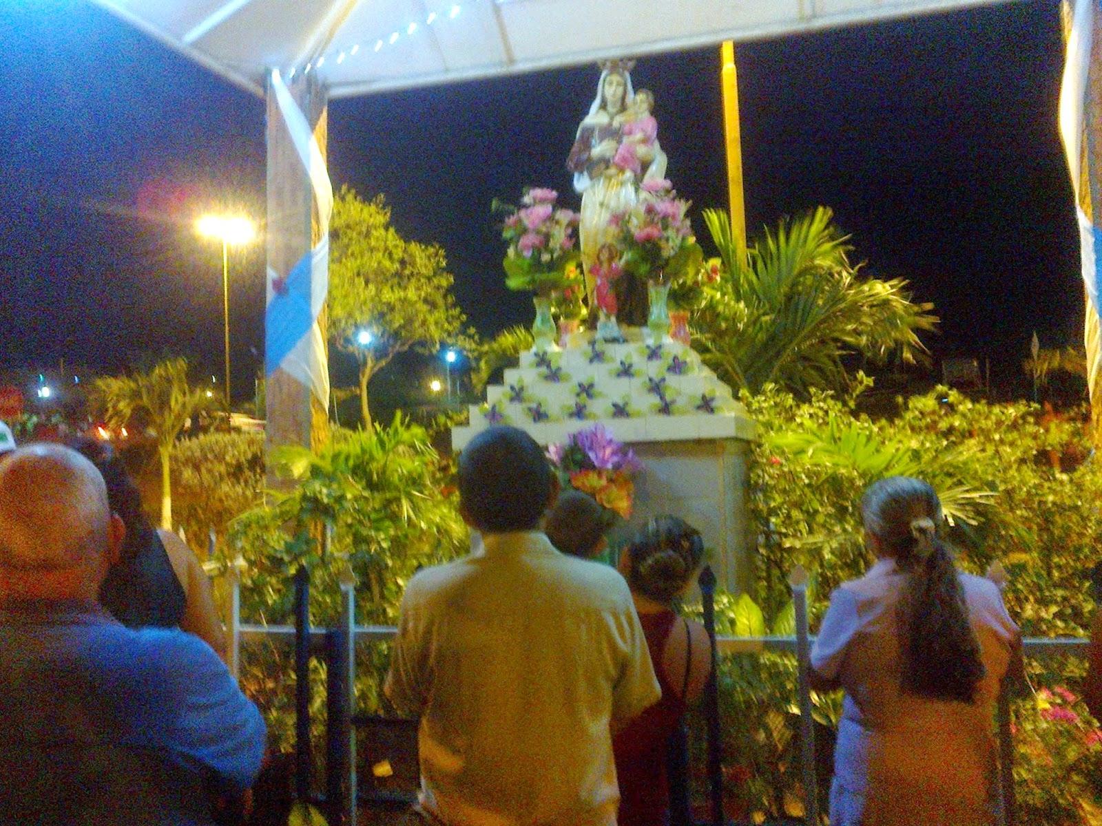 Con fe y alegría católicos de Comuneros-Cúcuta celebran alborada a la Virgen del Carmen #MovilNOTICIAS #OngAE #FelixNOTICIAS