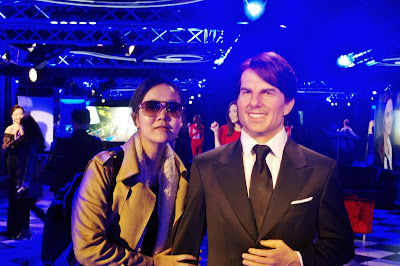 Sweet date with Mr Tom Cruise at Grevin Museum  | www.meheartseoul.blogspot.sg