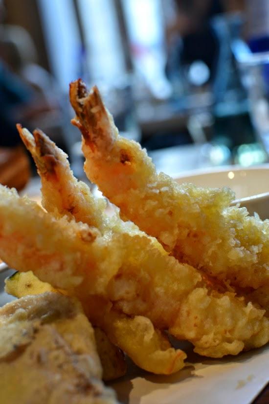 sake no hana prawn tempura umai saturdays