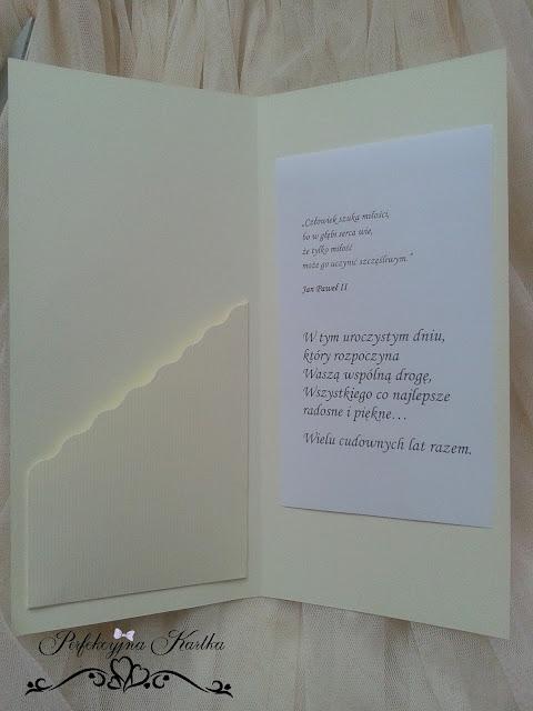 kieszonka koperta na pieniądze ślub