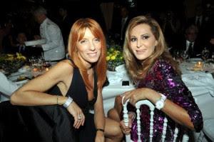 Michela Brambilla e Daniela Santanchè al ristorante