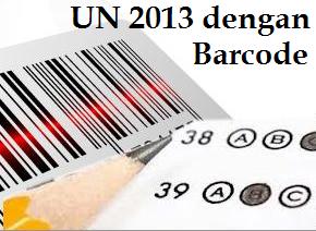 UN 2013 Menggunakan Sistem Barcode