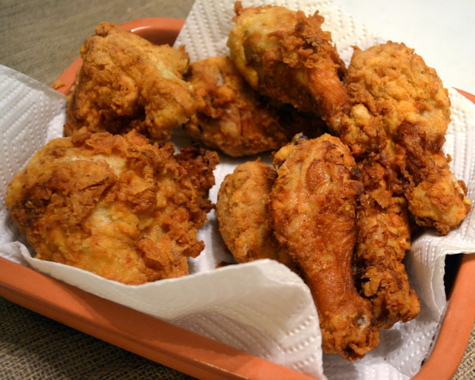 Candy Girl: Lemon Marinated Fried Chicken