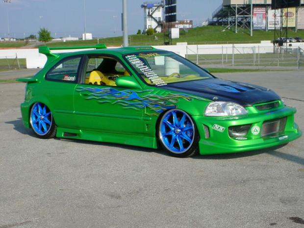 Most reliable cars modified honda hatchback