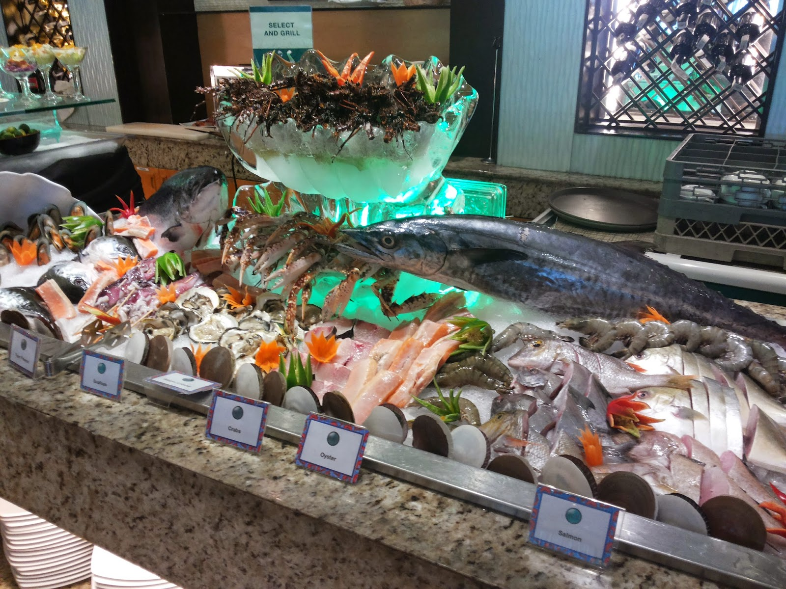Cafe 'd Asie Restaurant Buffet
