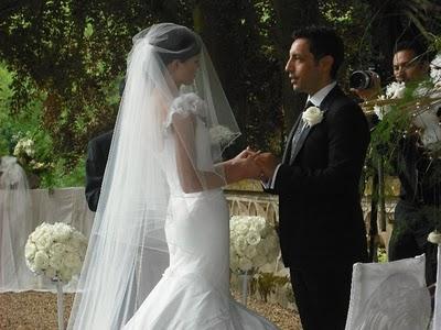 Lady choco wedding