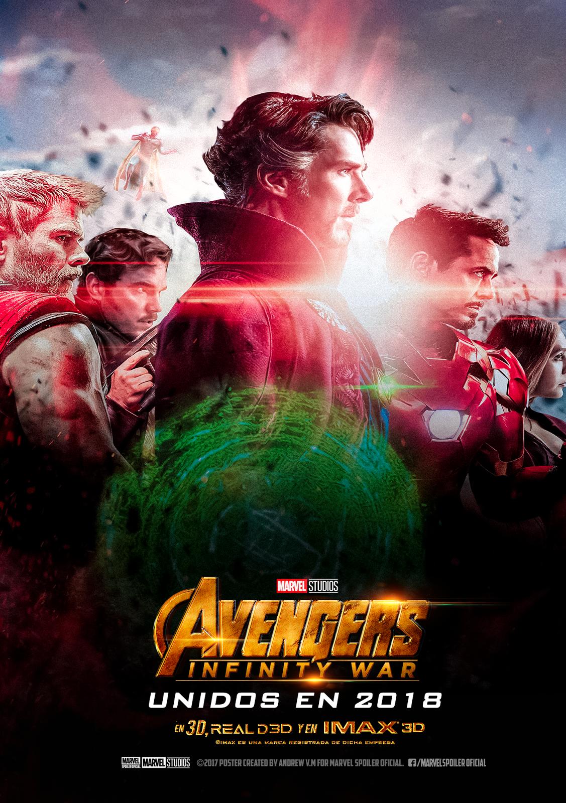 Marvel Spoiler Oficial Avengers INFINITY WAR Posters