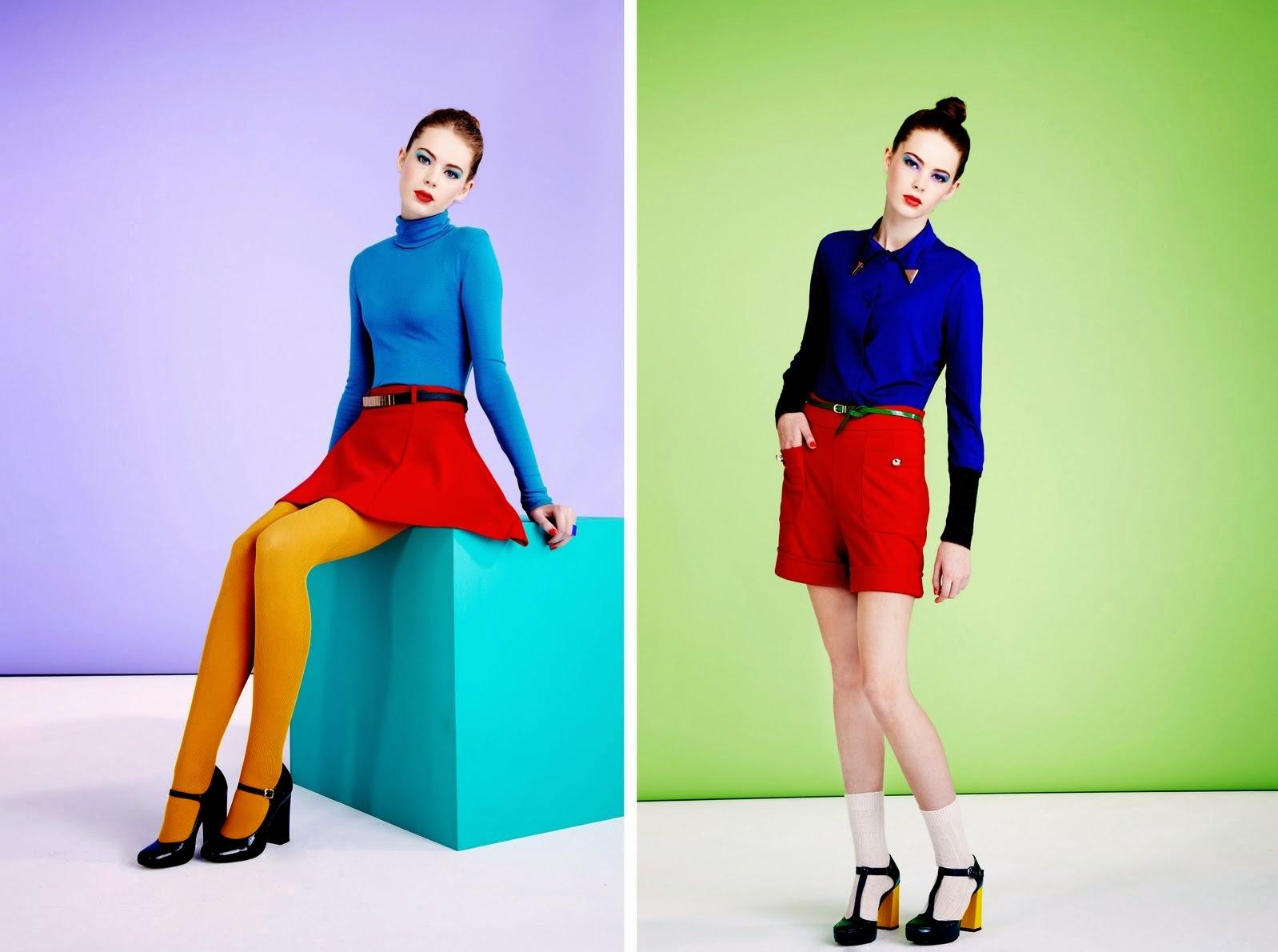 Fashion trend color blocking 2