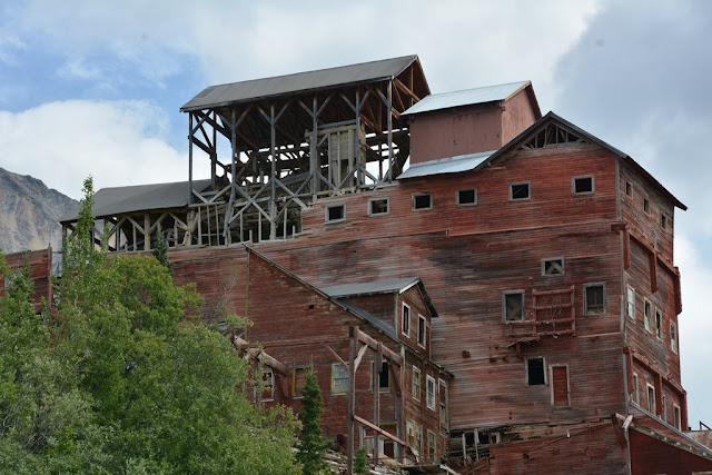 Kennecott Mill Kennicott wooden landmark