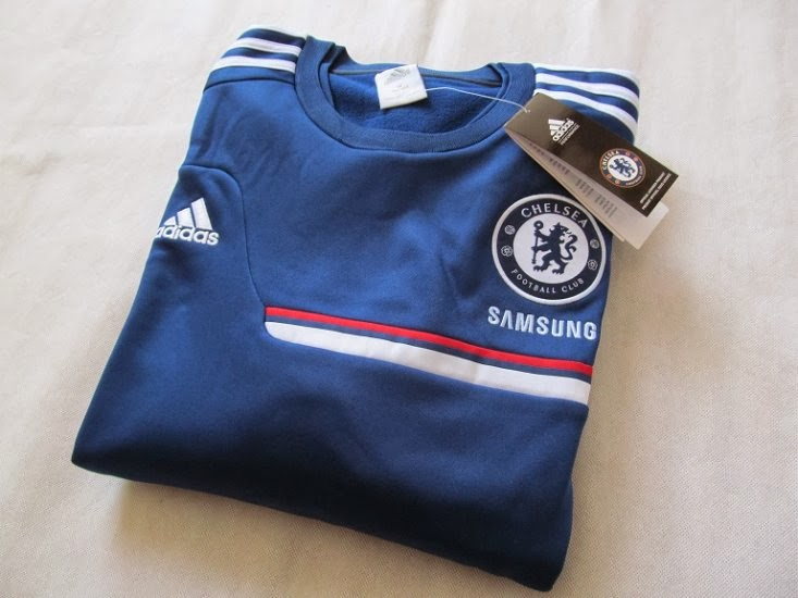 Grosir Sweater GO Training Chelsea Blue 2014 Terbaru Big Match Jersey