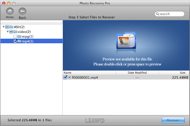 Select videos to retrieve