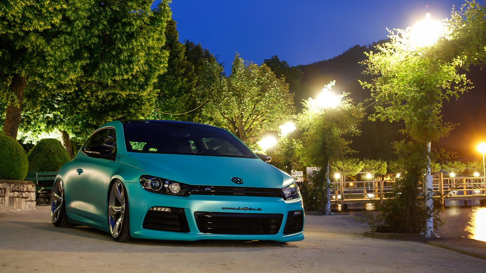 slammed vw scirocco r with 370ps is as minty fresh as they. Black Bedroom Furniture Sets. Home Design Ideas