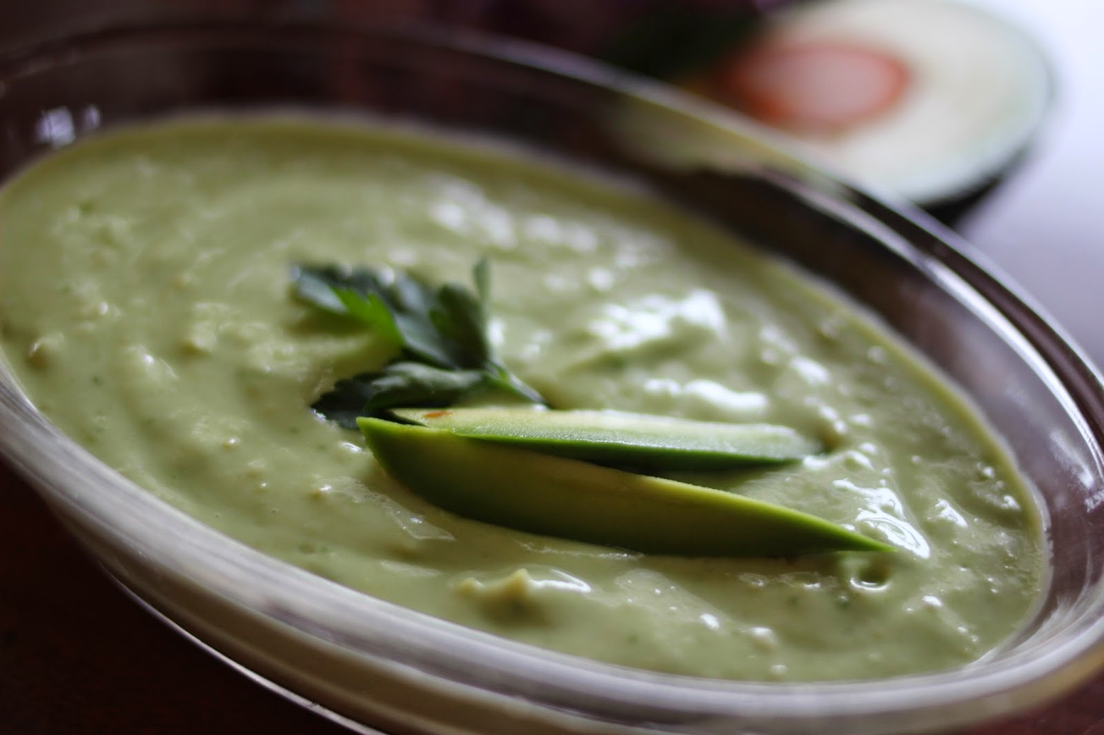 Running Girl Health and Fitness: Chilled Avocado Coconut Soup