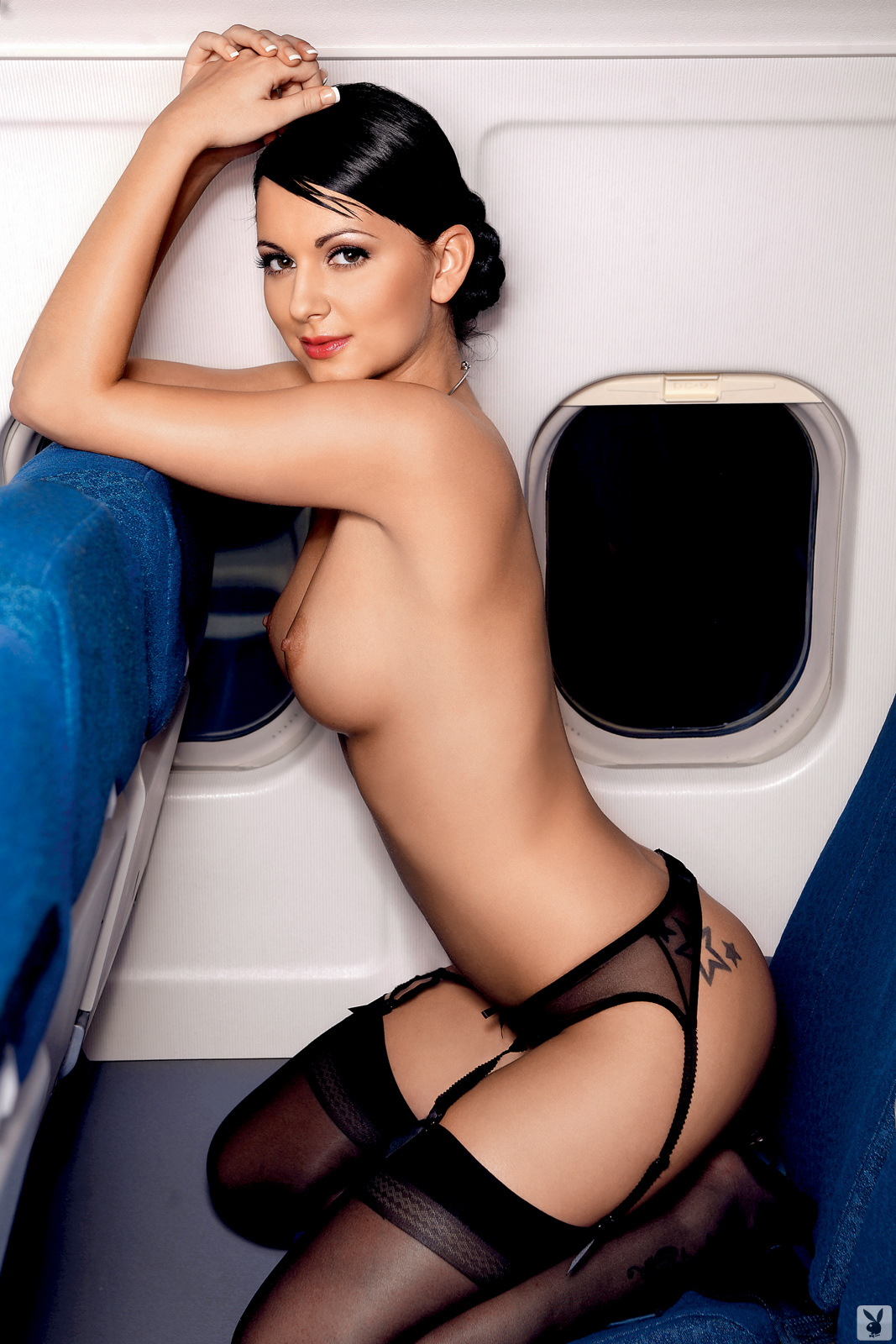 Real nude flight attendants playboy