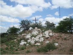 Cenário da Peça Paixão de Cristo na Semana Santa