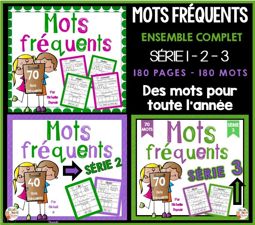 MOTS FRÉQUENTS