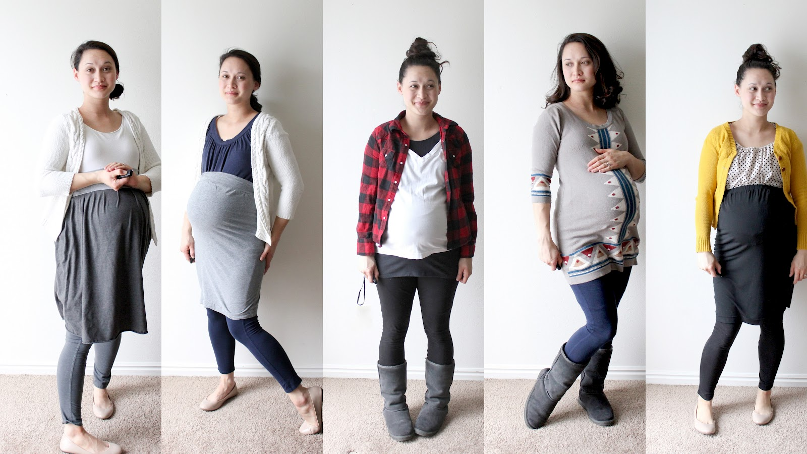 nesting: diy maternity photo shoot