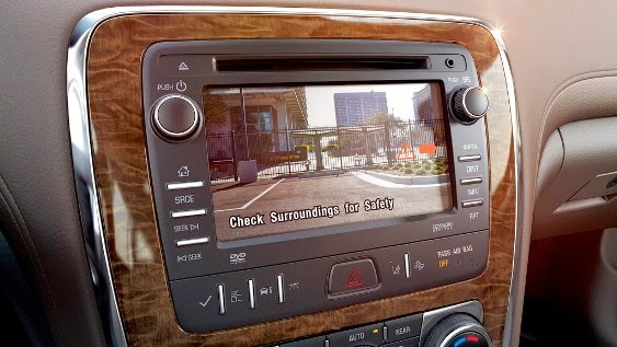 2015 Buick leads reversing camera as standard