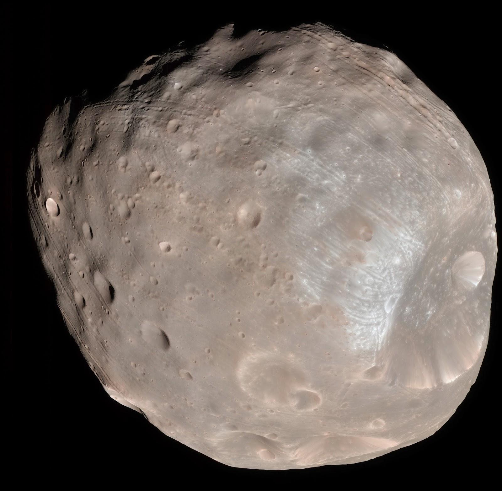 Phobos, mars moon