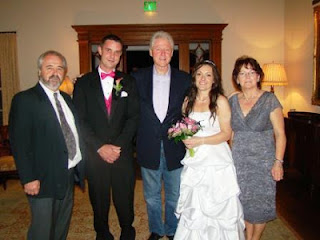 Bill Clinton Wedding