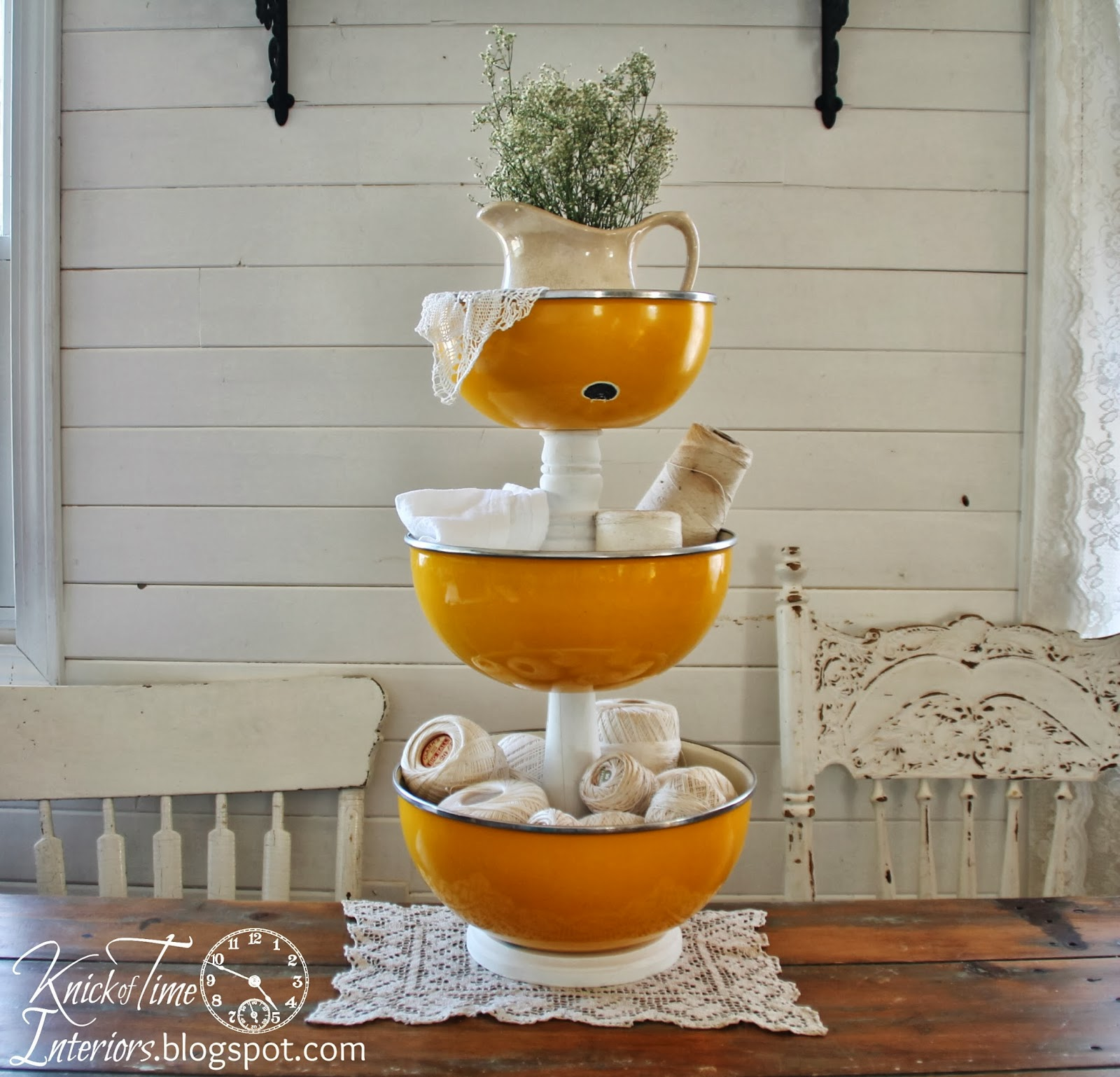 enamelware-bowls-tiered-stand