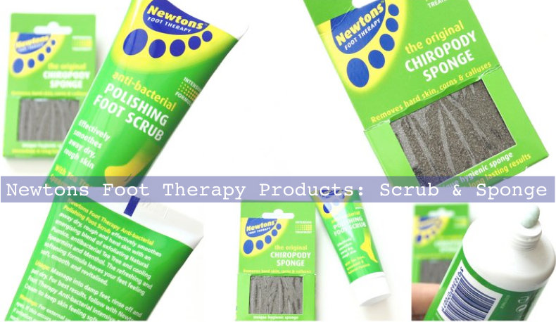 Review: Newtons Chiropody Sponge + Scrub