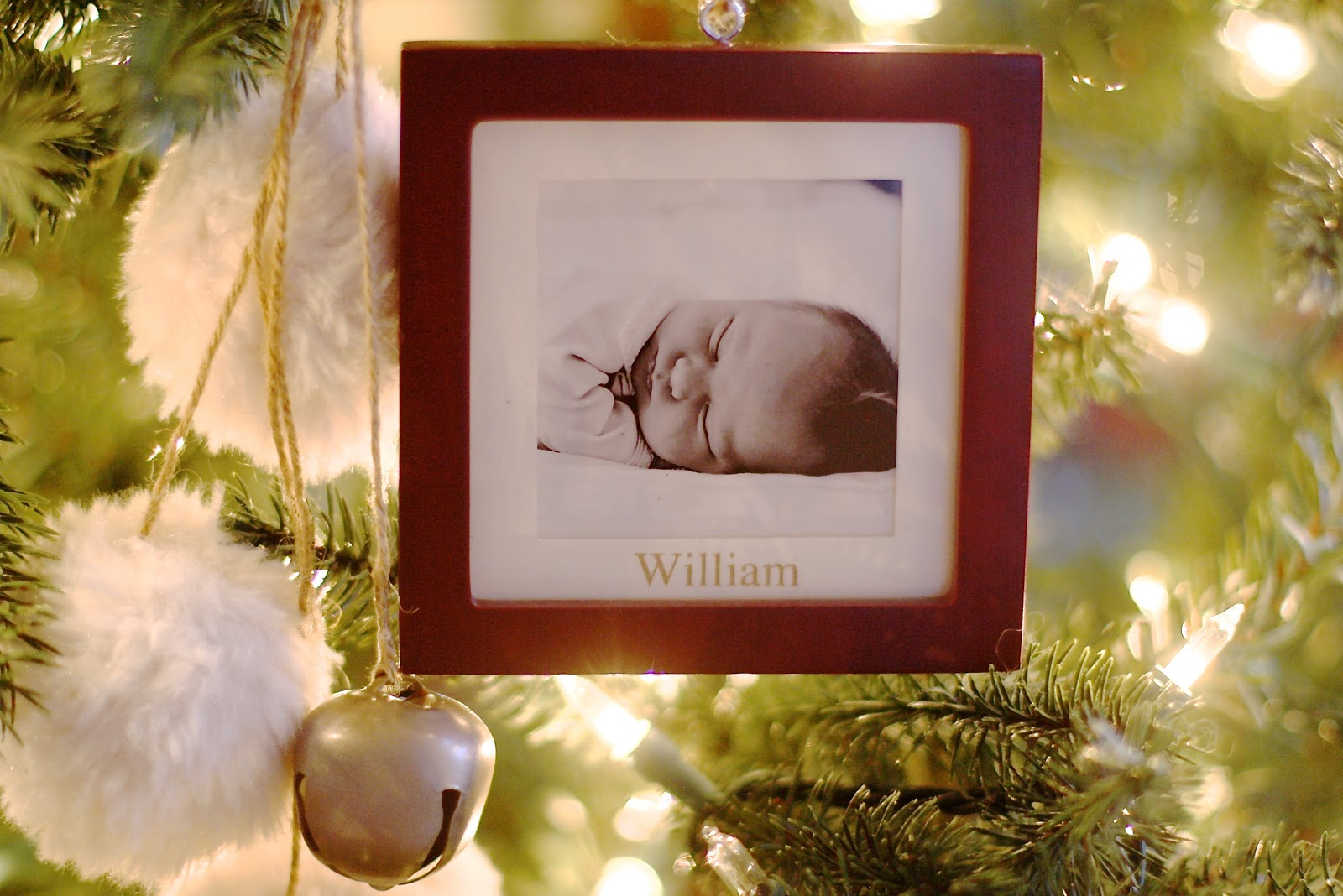 Baby's First Christmas Ornament · St Jude