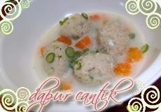 Gambar Bakso Ayam Kuah Susu Dapur Cantik