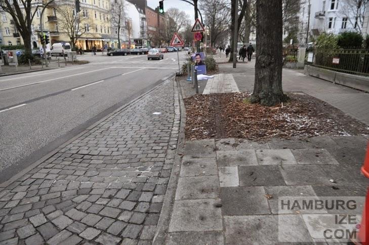 hamburgizecom Eppendorfer Landstraße jetzt ohne Radweg