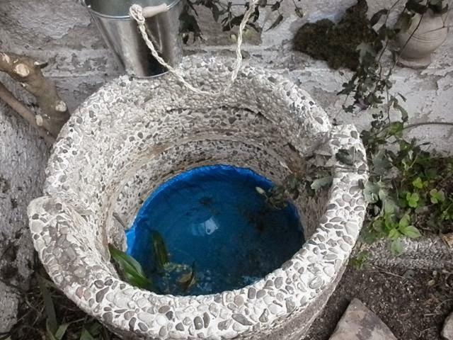 Fuentequemana el pozo y el agua for Arco decorativo jardin