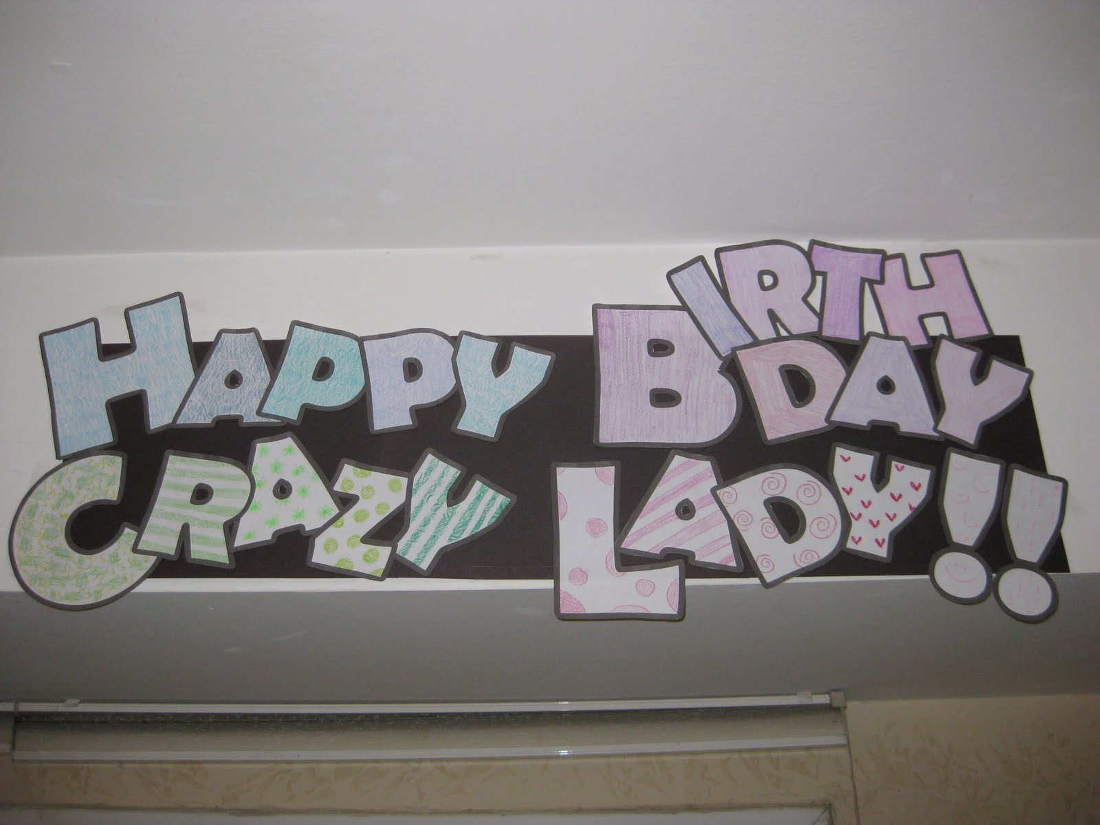 Happy Birthday Lady Images ~ At home in the holy land happy crazy birthday lady