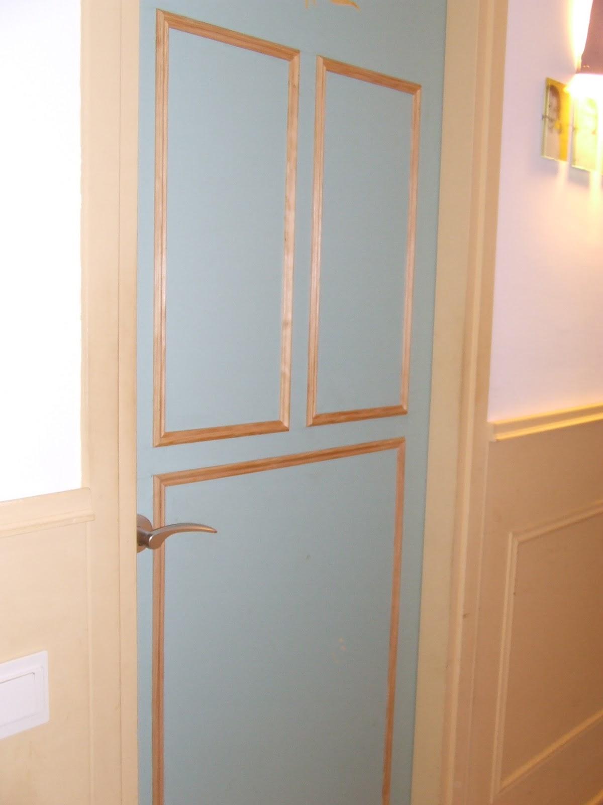 Las cosas de marita puertas decoradas - Molduras de puertas ...