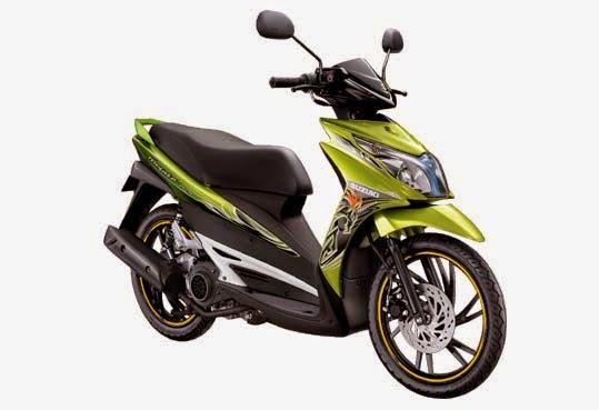Motor Suzuki Hayate 125