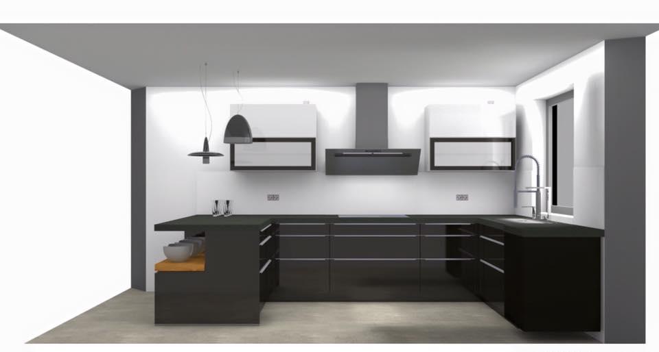 reihenhaus von werner wohnbau in bickenbach endg ltiger 3d k chenplan erhalten. Black Bedroom Furniture Sets. Home Design Ideas