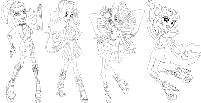Free Printable Monster High Coloring Pages Boo York