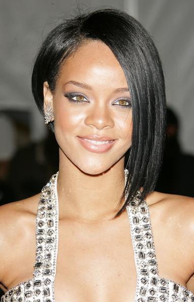 Hairstyles for black women Bob 2011-Rihanna