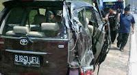 Kronologis Kecelakaan yang Menewaskan Istri Saipul Jamil