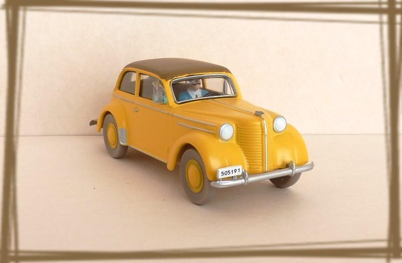 Garage de poche tintin l 39 opel olympia cabriolet n 19 for Garage opel l union