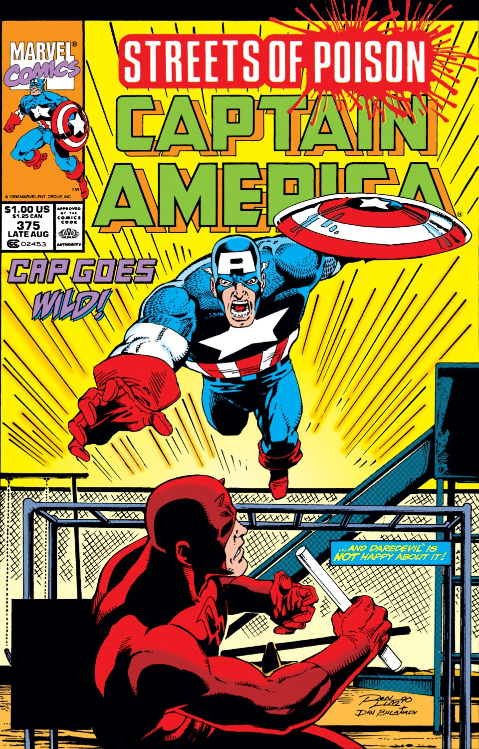 Captain America (1968) Issue #375 #308 - English 1