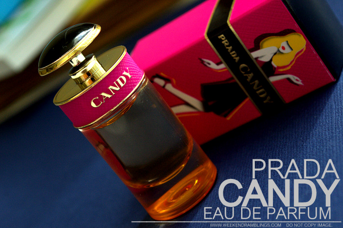 Prada Candy Eau de Parfum EDP Designer Fragrance Vanilla Sweet Scents Perfumes Women Indian Beauty Makeup Blog Reviews Ingredients