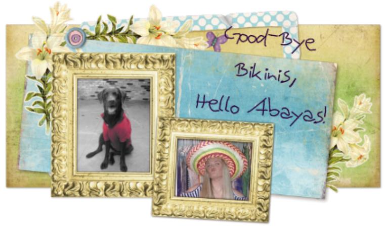 Good-Bye Bikinis, Hello Abayas!
