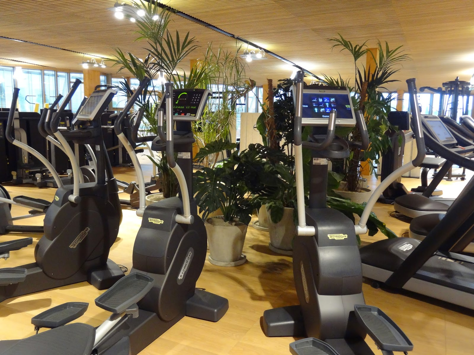 Technogym Wellness Village Gym Showroom Excite