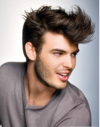 Peinado para hombre 2018 Cómo hacer un look despeinado en casa  - Como Hacer Peinados Para Hombre