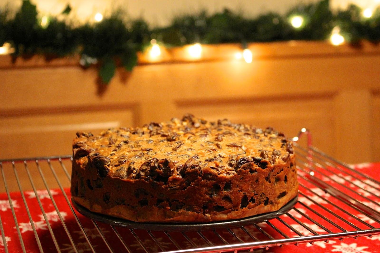 Simple Christmas Cake Recipe Blog