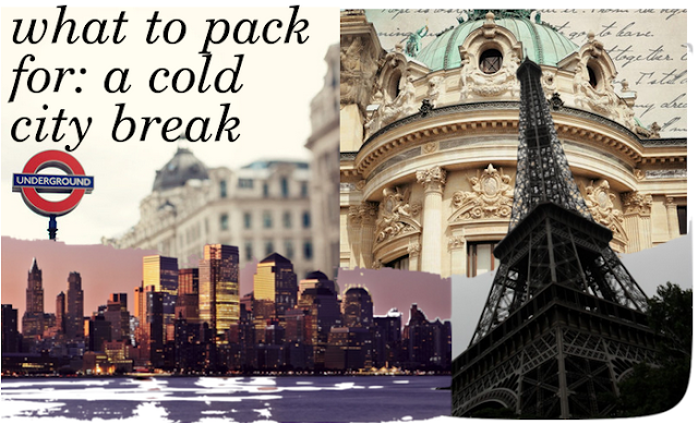 ✈ what clothes to pack for a cold city break ☁ ☂ ❅