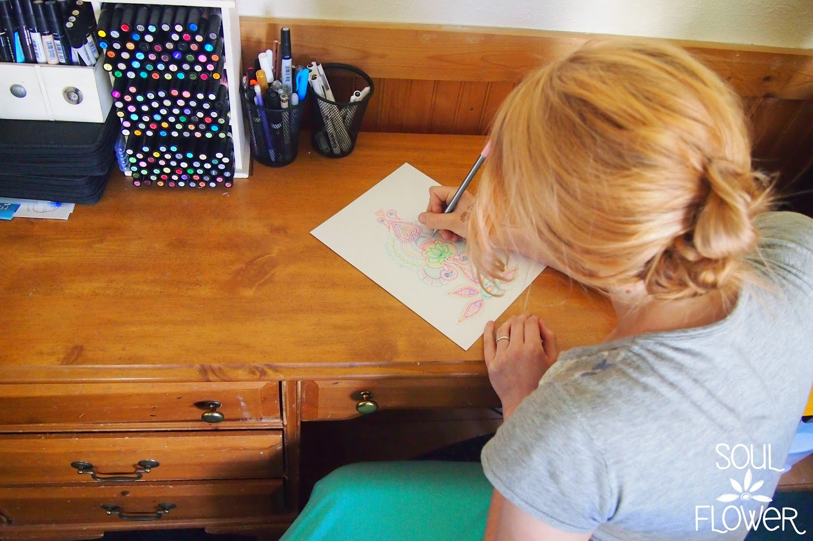 drawing your own henna - How to Create a Henna Design