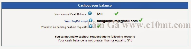 cashout your balance hitlink traffic website