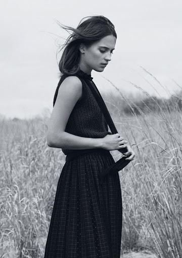 Alicia Vikander InStyle Magazine August 2015 photo shoot