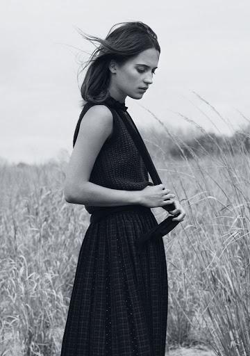 Alicia Vikander InStyle Magazine August 2015 photo shoot